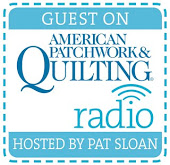 Guest on American Patchwork & Quilting Radio